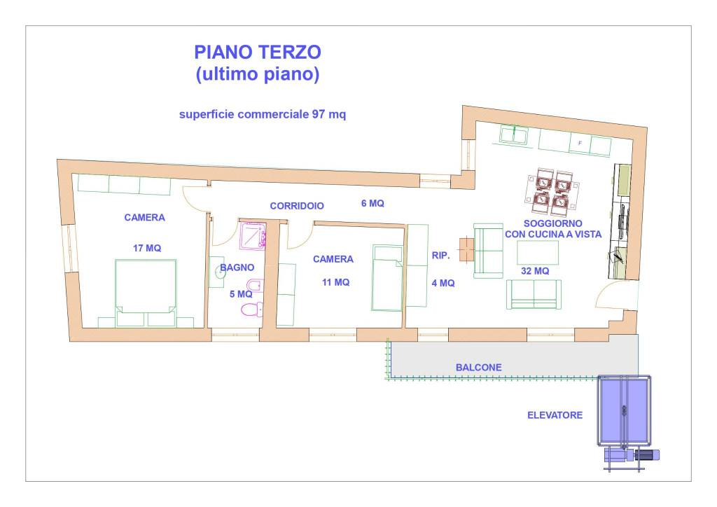 Appartamento in vendita Rif. 8492206