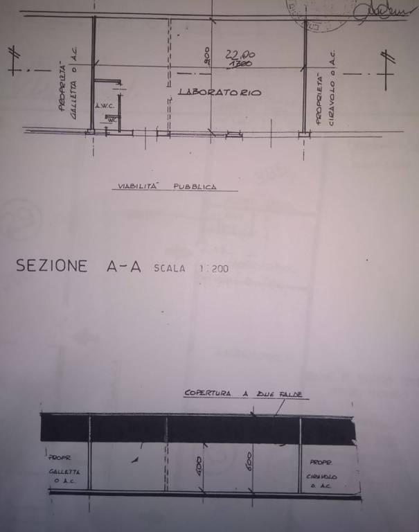 Capannone in vendita a Borgaro Torinese, 1 locali, prezzo € 95.000 | PortaleAgenzieImmobiliari.it