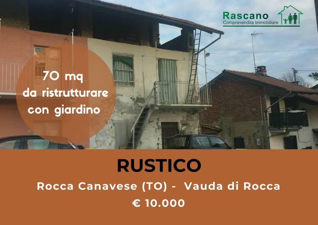 Foto 1 di Rustico / Casale Borgata Vauda 38, Rocca Canavese