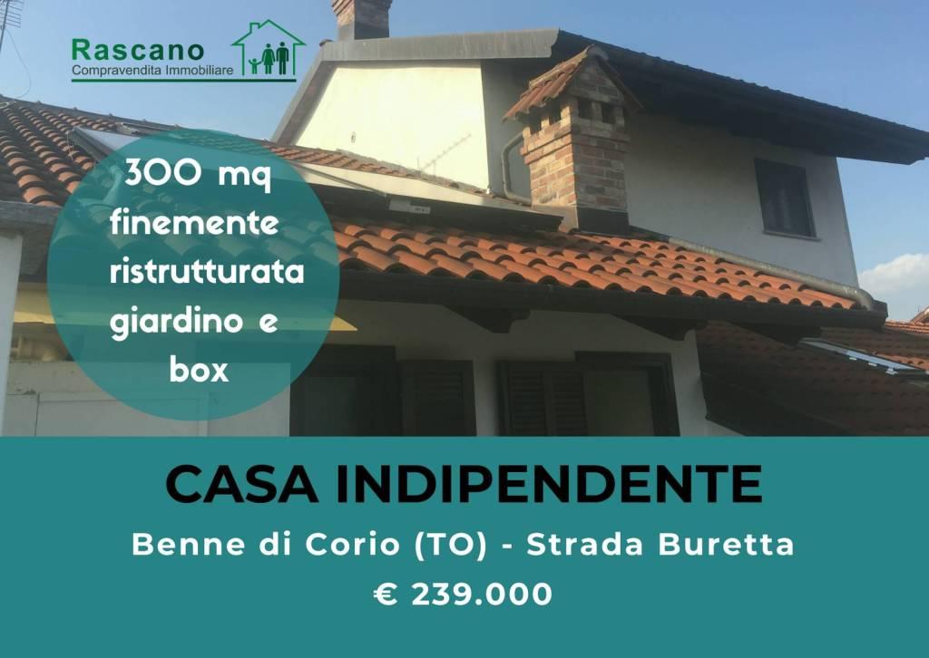 Foto 1 di Casa indipendente strada Buretta 36, frazione Benne, Corio