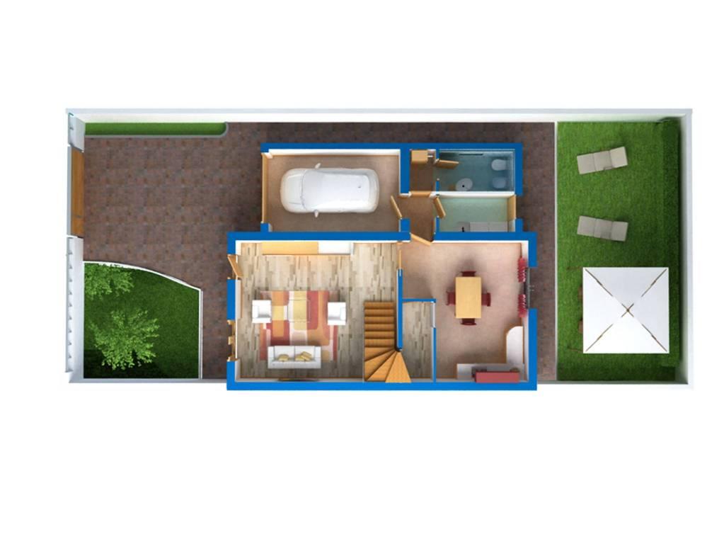 Villa in Vendita a Cavallino Centro: 4 locali, 105 mq