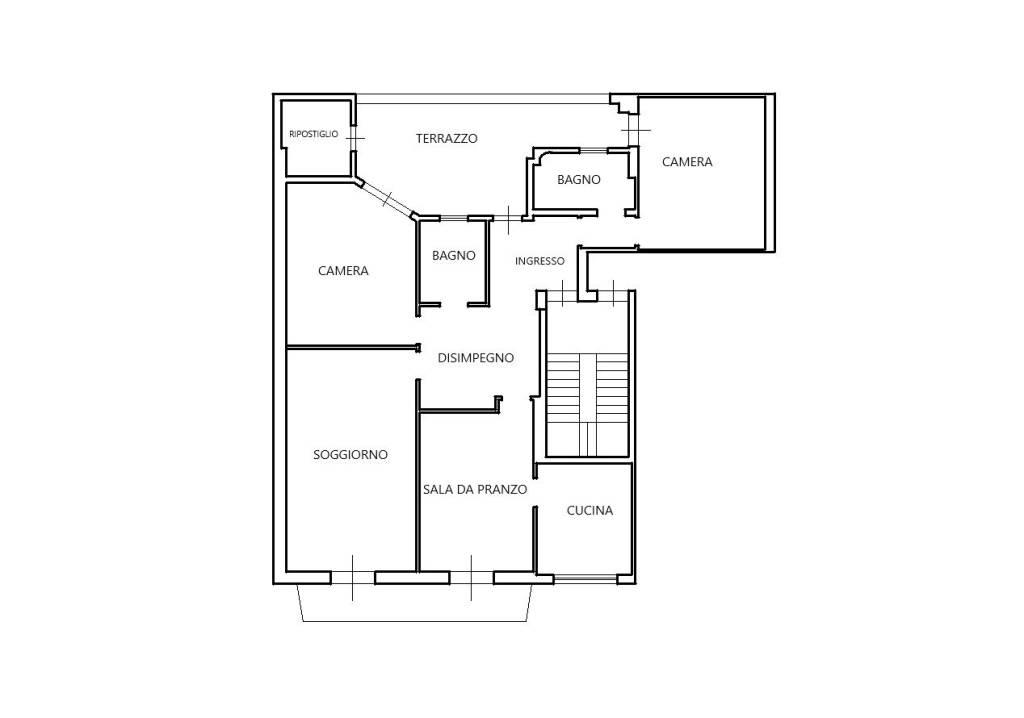 Appartamento da ristrutturare in vendita Rif. 7518306