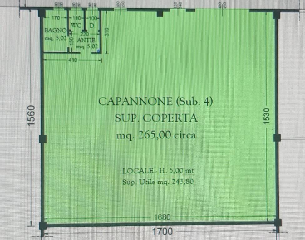 Capannone in affitto a Caravaggio, 9999 locali, prezzo € 1.150   PortaleAgenzieImmobiliari.it
