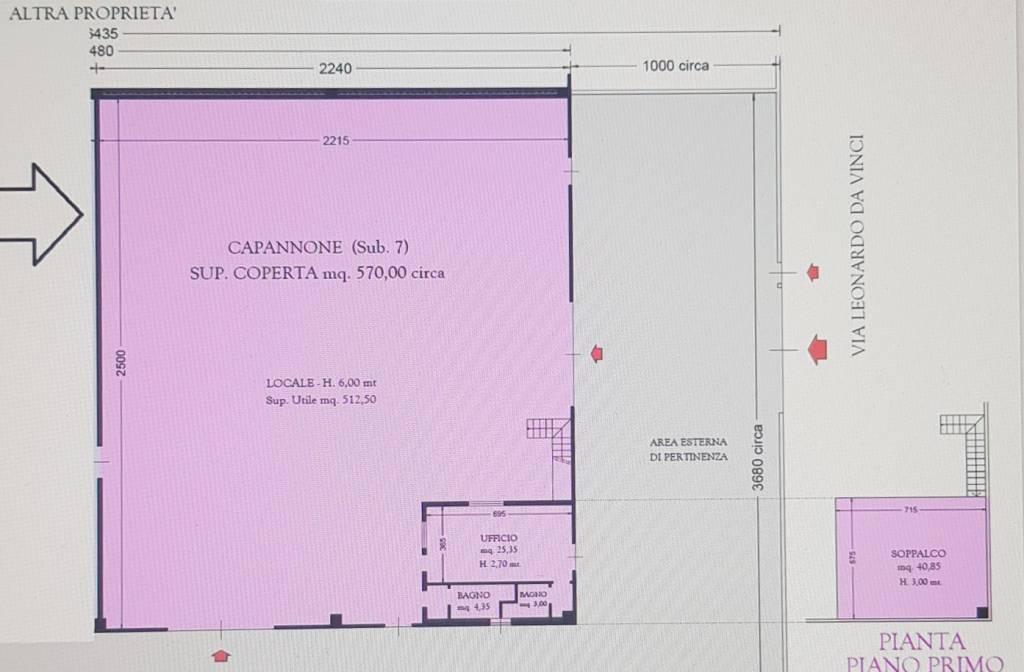 Capannone in affitto a Caravaggio, 9999 locali, prezzo € 2.350   PortaleAgenzieImmobiliari.it