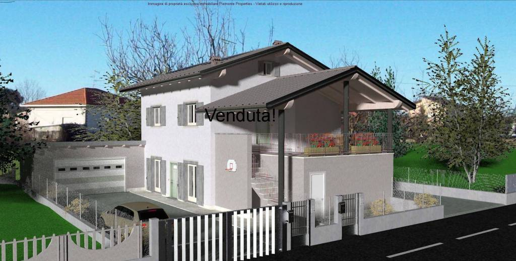 Trilocale e quadrilocale in villa bifamigliare