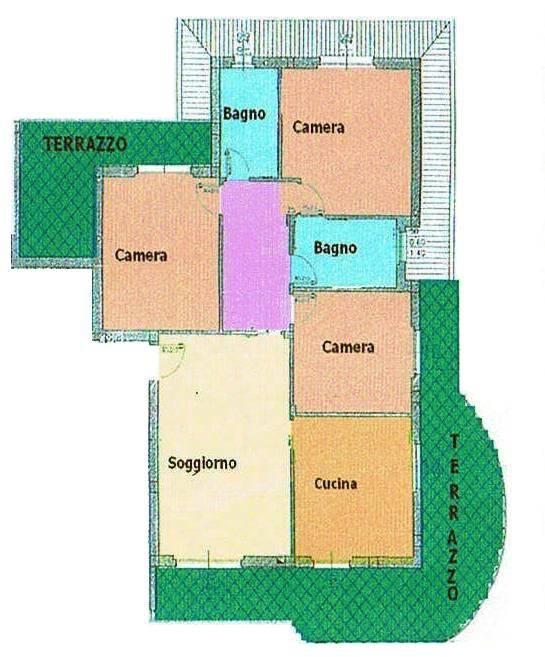 Attico / Mansarda in vendita a San Vittore Olona, 4 locali, prezzo € 285.000 | PortaleAgenzieImmobiliari.it