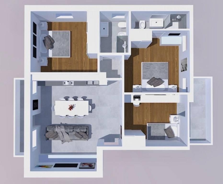Appartamento in vendita a Cividale del Friuli, 5 locali, prezzo € 128.000 | CambioCasa.it