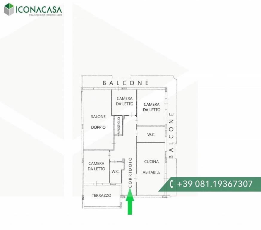 Appartamento in vendita a Giugliano in Campania, 5 locali, prezzo € 173.000 | PortaleAgenzieImmobiliari.it