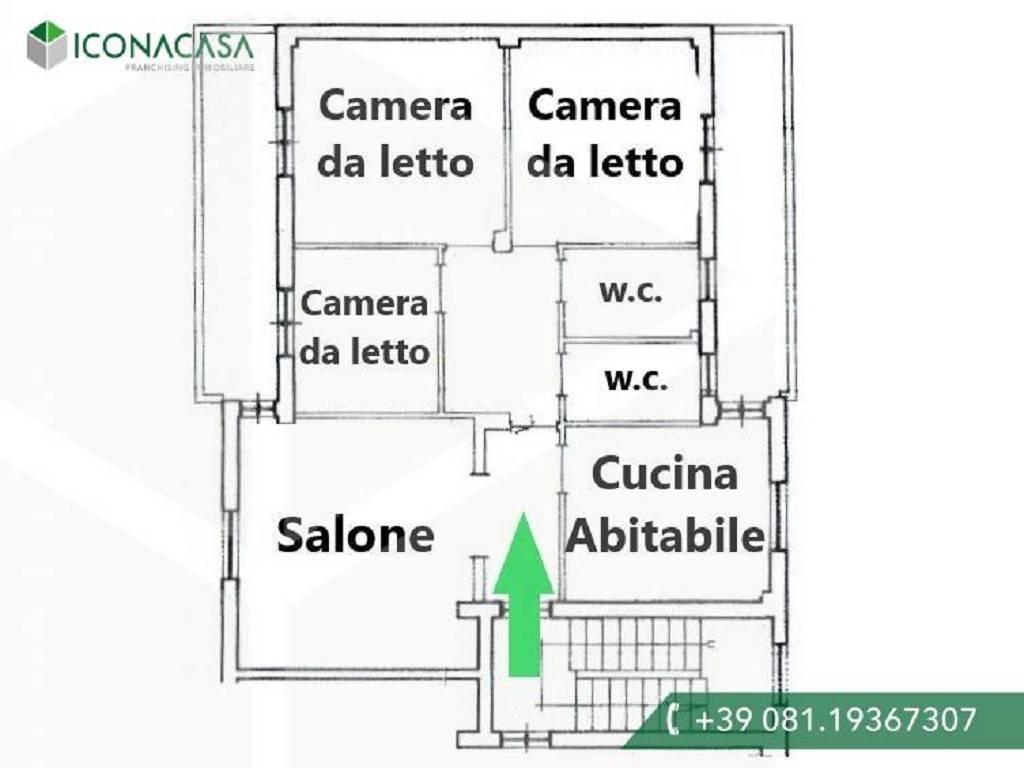 Appartamento in vendita a Giugliano in Campania, 4 locali, prezzo € 135.000 | PortaleAgenzieImmobiliari.it