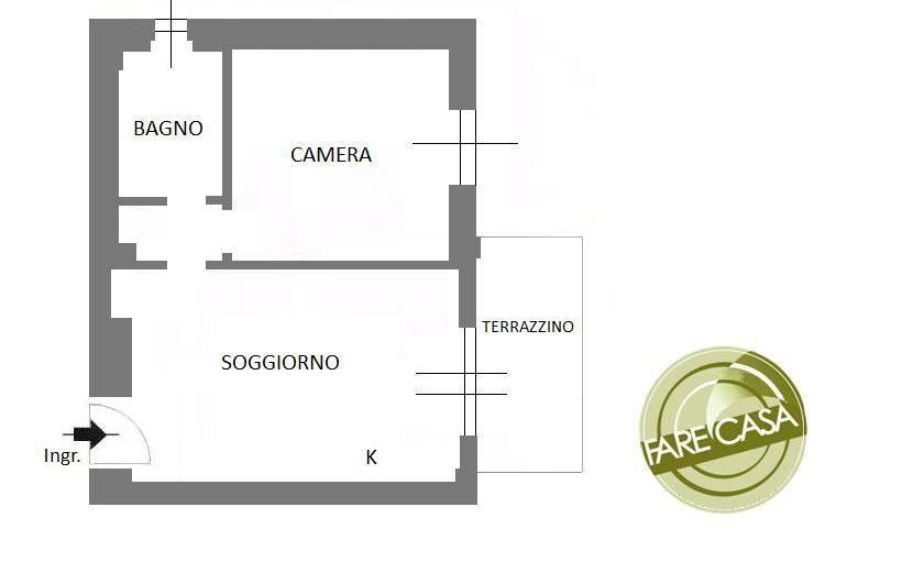 Appartamento in vendita a Lomazzo, 2 locali, prezzo € 98.000 | PortaleAgenzieImmobiliari.it