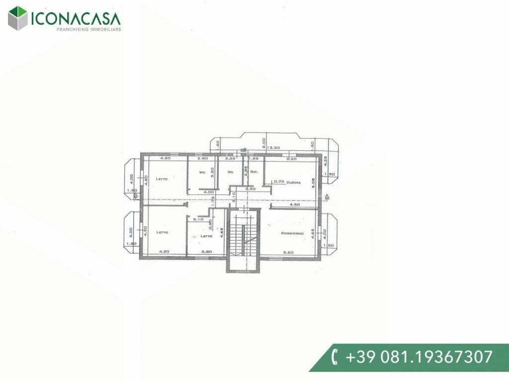 Appartamento in vendita a Giugliano in Campania, 6 locali, prezzo € 143.000 | PortaleAgenzieImmobiliari.it