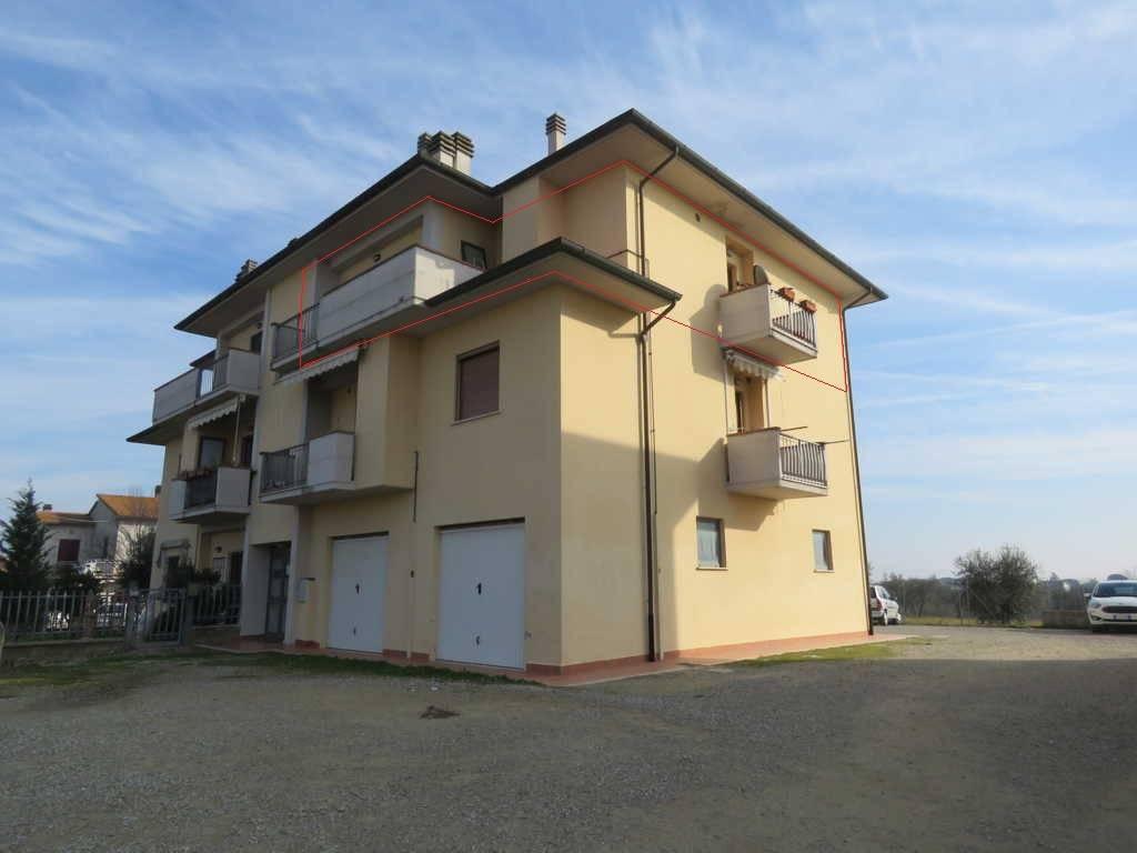 Attico / Mansarda in vendita a Cortona, 4 locali, prezzo € 99.000 | PortaleAgenzieImmobiliari.it