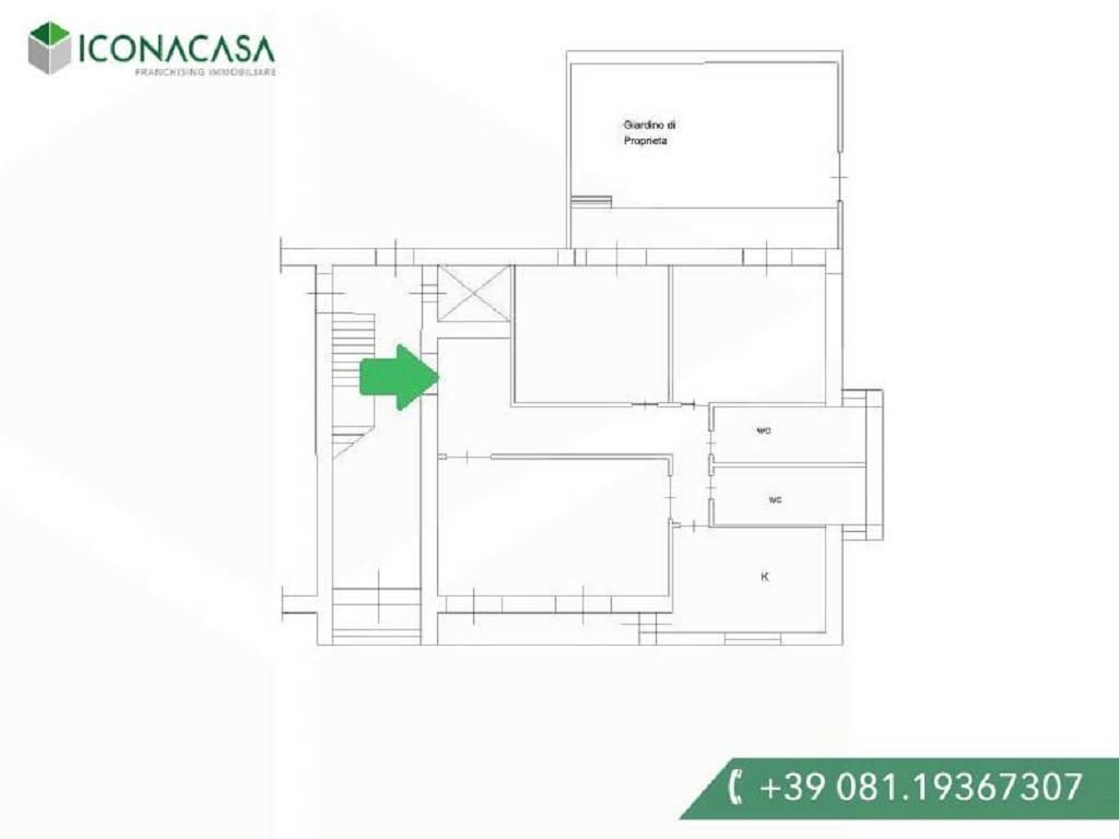 Appartamento in vendita a Giugliano in Campania, 4 locali, prezzo € 115.000 | PortaleAgenzieImmobiliari.it
