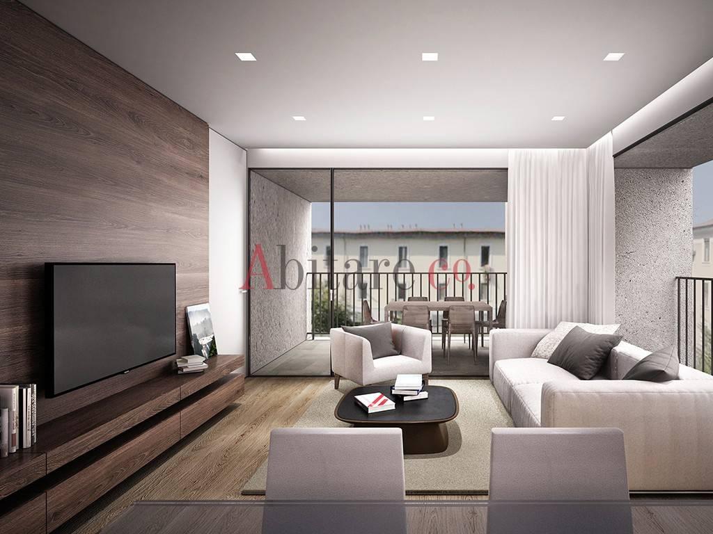 Appartamento in Vendita a Milano 20 Bicocca / Crescenzago / Cimiano: 3 locali, 99 mq