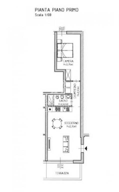 Appartamento in Vendita a Firenze Centro: 2 locali, 52 mq
