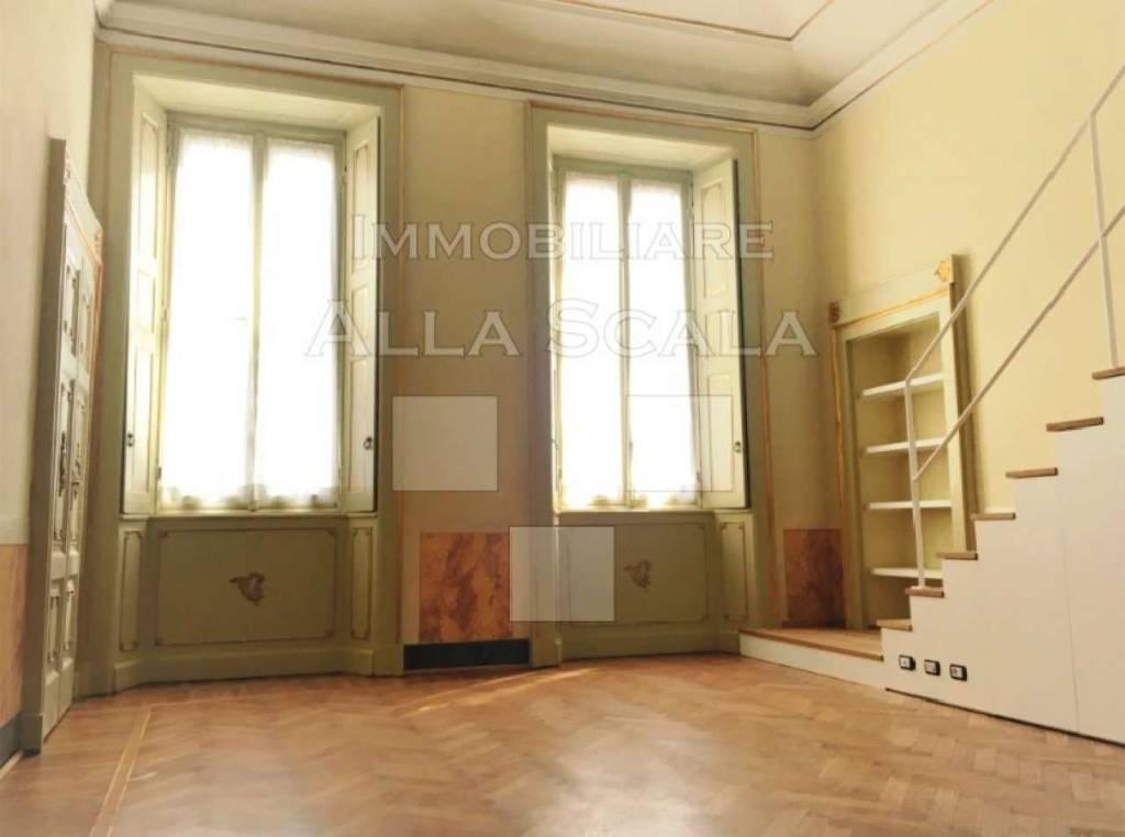 Attico in Affitto a Milano 01 Centro storico (Cerchia dei Navigli): 1 locali, 50 mq