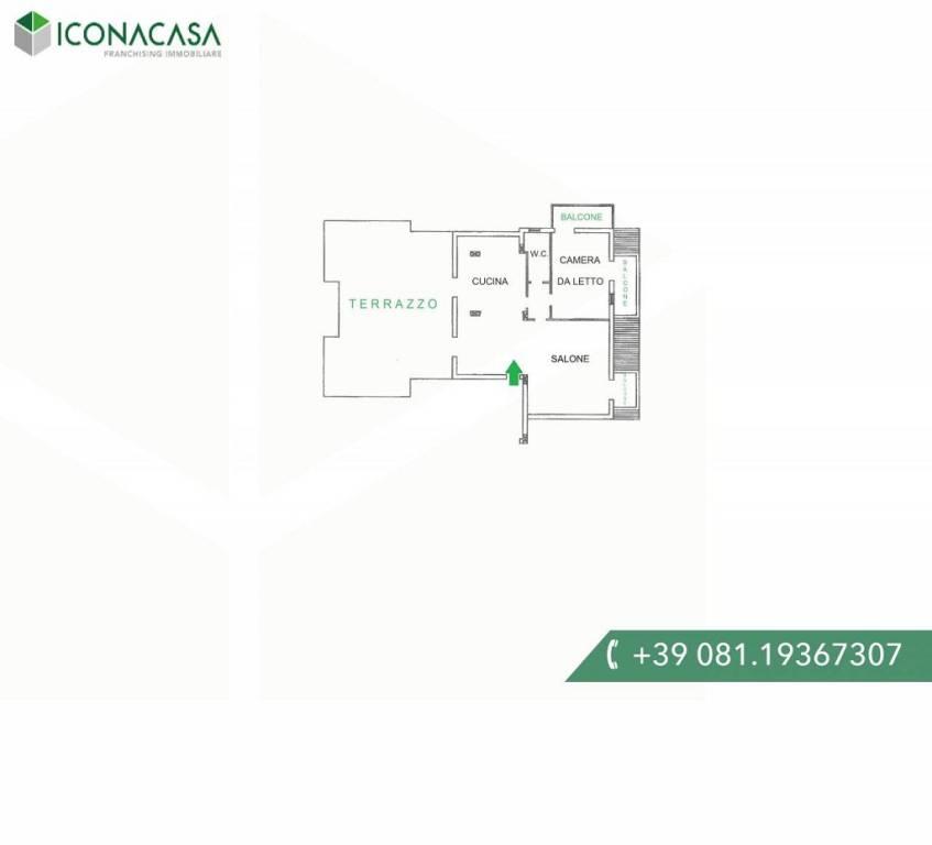 Appartamento in vendita a Giugliano in Campania, 3 locali, prezzo € 135.000 | PortaleAgenzieImmobiliari.it