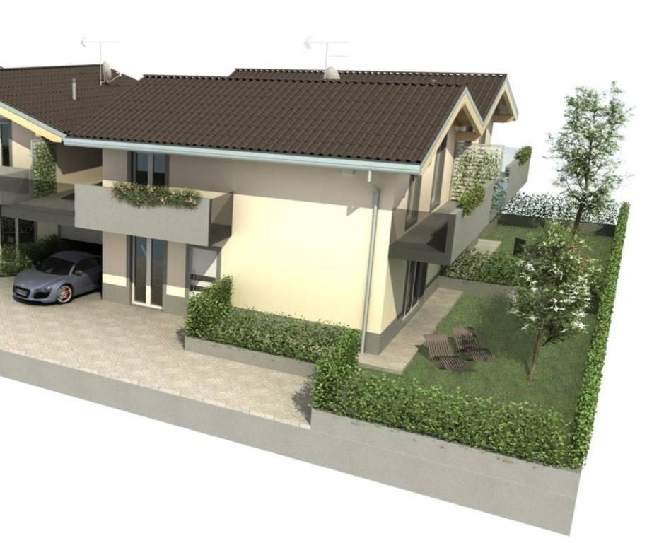 Villa a Schiera in vendita a Limido Comasco, 4 locali, prezzo € 280.000 | PortaleAgenzieImmobiliari.it