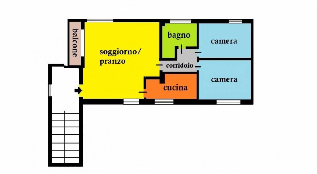 Appartamento in vendita a Cernusco sul Naviglio, 3 locali, prezzo € 229.000 | CambioCasa.it