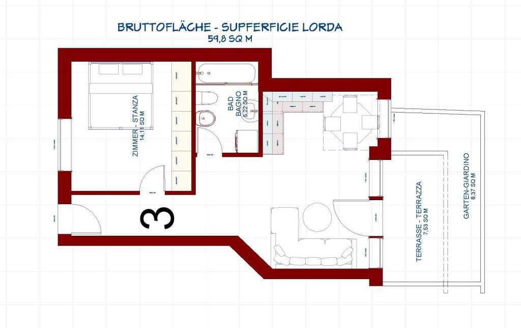 Appartamento in vendita a Aldino, 2 locali, Trattative riservate | PortaleAgenzieImmobiliari.it