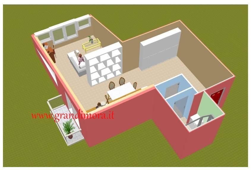 Loft / Openspace in vendita a Bosco Chiesanuova, 2 locali, prezzo € 109.334 | CambioCasa.it