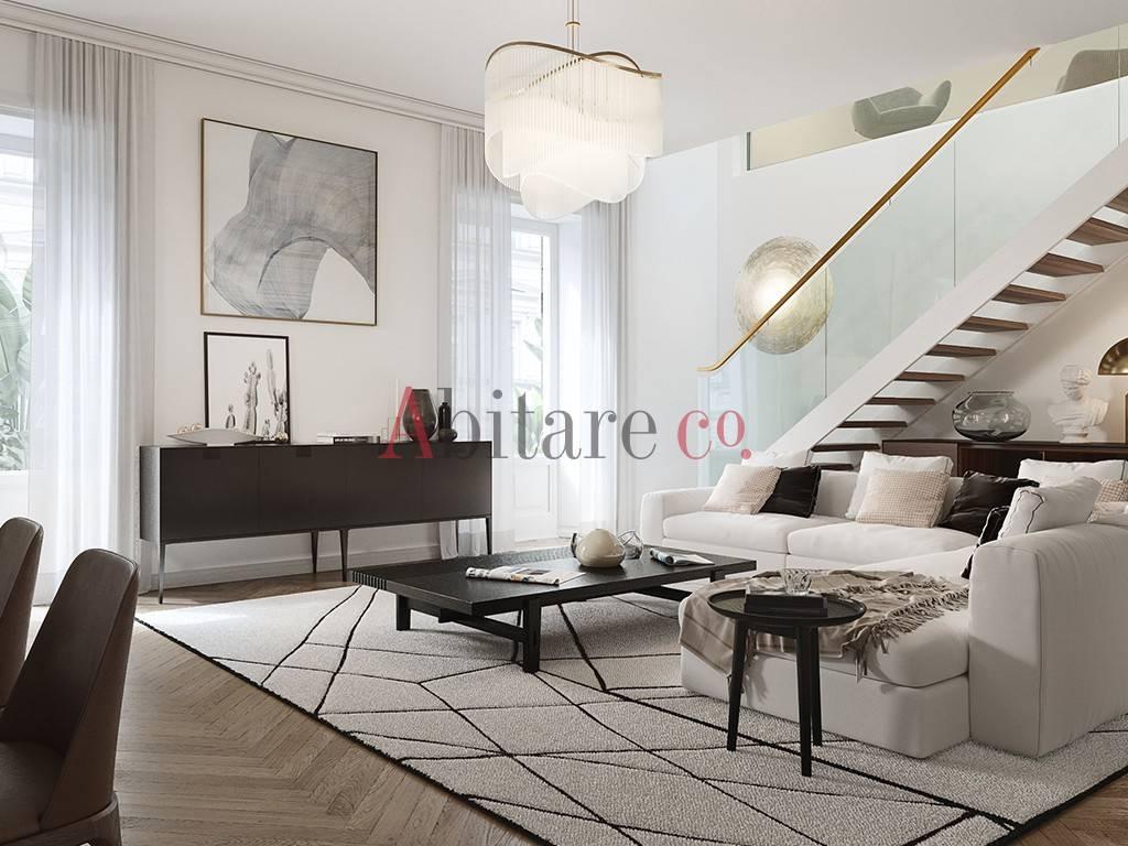 Appartamento in Vendita a Milano 01 Centro storico (Cerchia dei Navigli): 5 locali, 205 mq