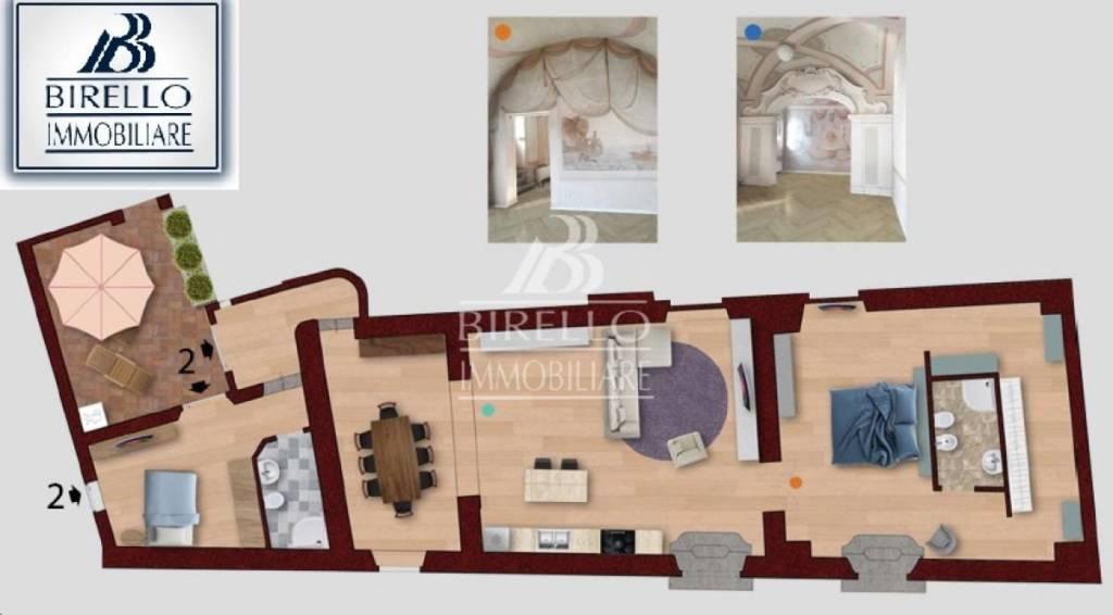 Appartamento in Vendita a Firenze Semicentro Est: 4 locali, 132 mq