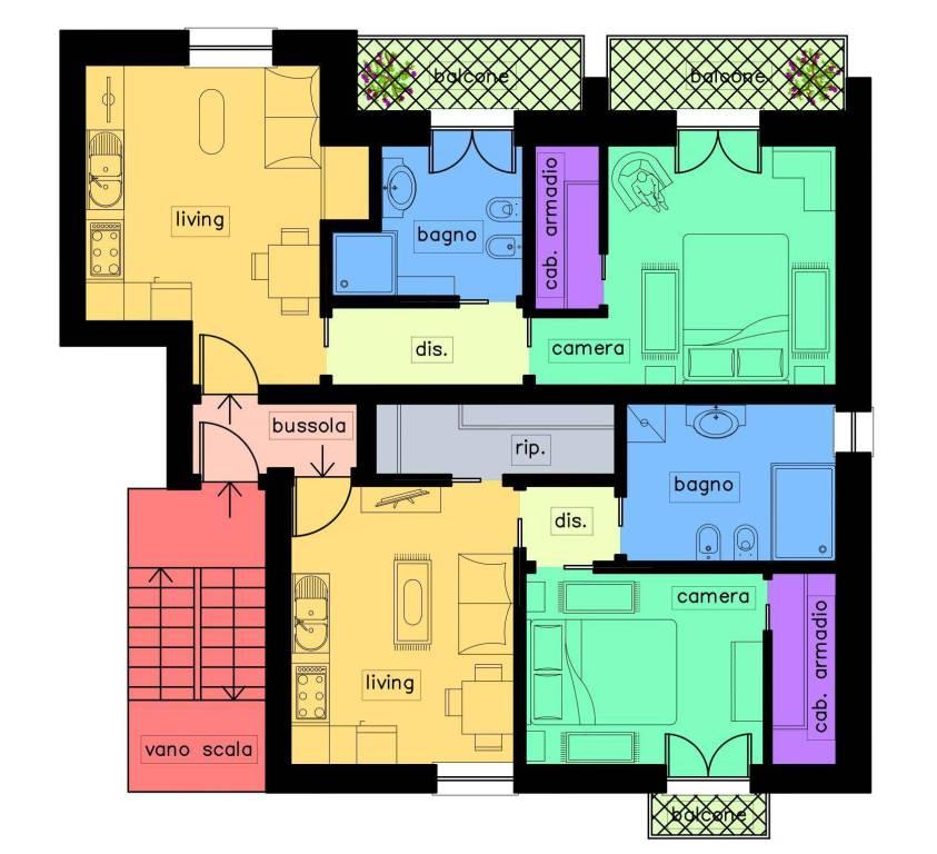 Appartamento in buone condizioni in vendita Rif. 7935863