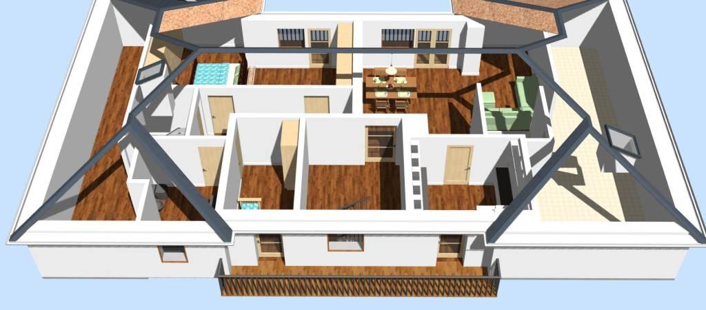 Appartamento in vendita a Nova Ponente, 5 locali, prezzo € 450.000   PortaleAgenzieImmobiliari.it