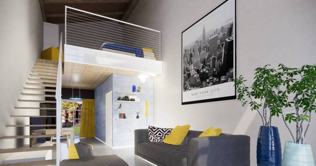 Loft / Openspace in vendita a Villasanta, 2 locali, prezzo € 185.000 | CambioCasa.it