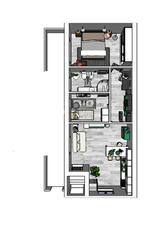 Appartamento in Vendita a Arzachena: 3 locali, 70 mq