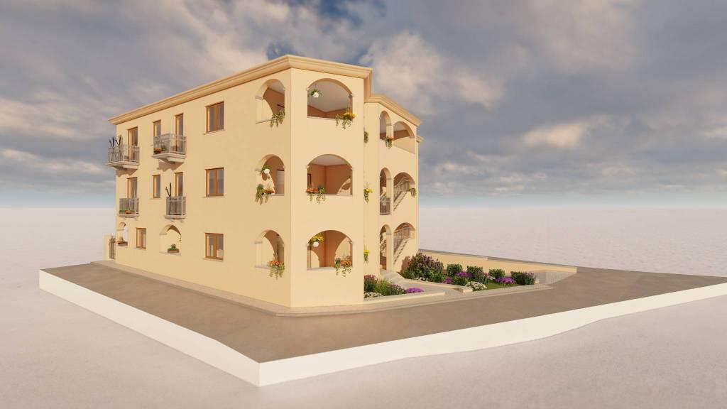 Appartamento in Vendita a Arzachena: 3 locali, 90 mq