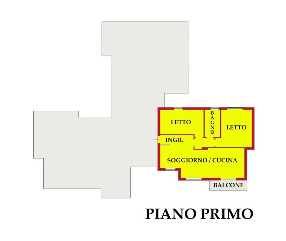 Appartamento in vendita a Castiglione delle Stiviere, 3 locali, prezzo € 86.700 | CambioCasa.it