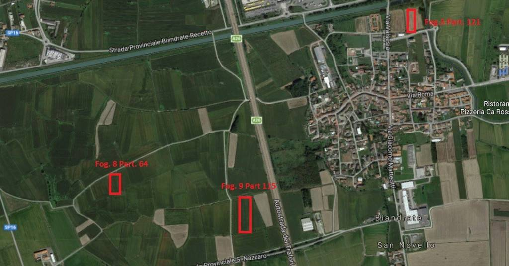 Terreno Agricolo in vendita a Biandrate, 9999 locali, prezzo € 45.000 | PortaleAgenzieImmobiliari.it