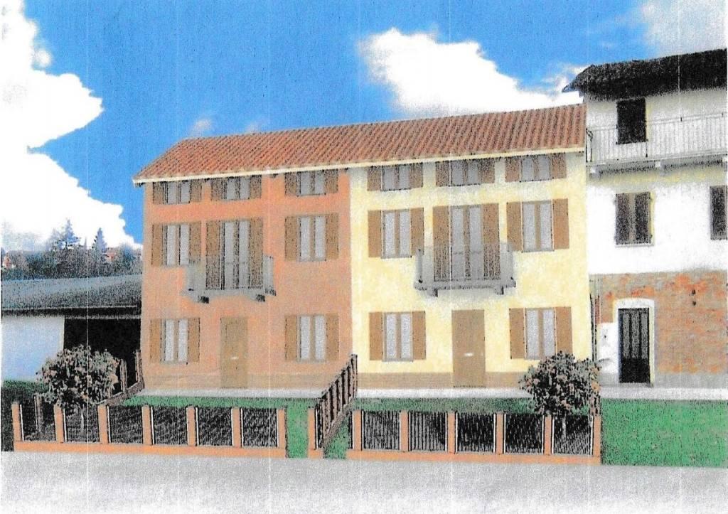 Villa a Schiera in vendita a San Damiano d'Asti, 4 locali, prezzo € 175.000   PortaleAgenzieImmobiliari.it