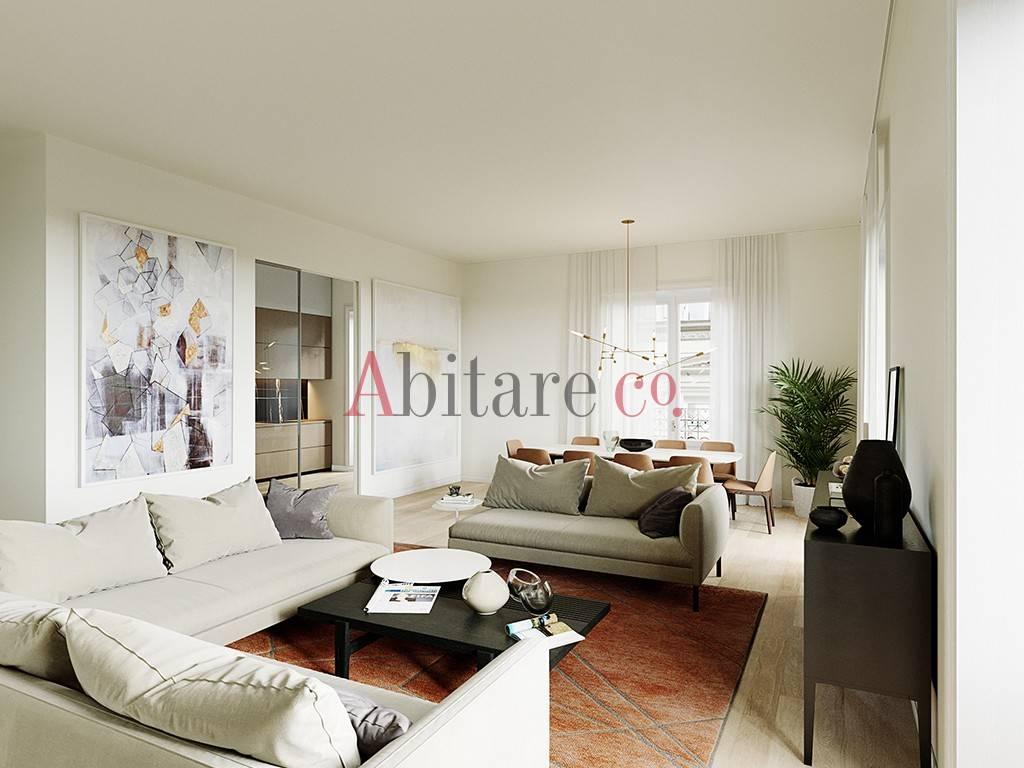 Appartamento in Vendita a Milano 01 Centro storico (Cerchia dei Navigli): 3 locali, 113 mq