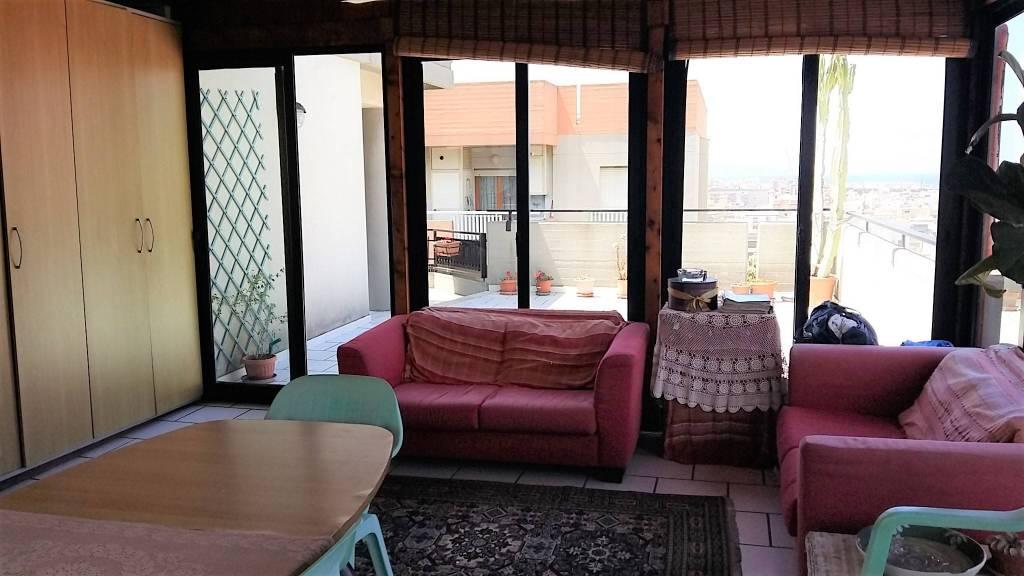 Via Villa S G.nni, attico di mq 200ca oltre verande, ottime condizioni, vista mare Euro 290mila CL , foto 10