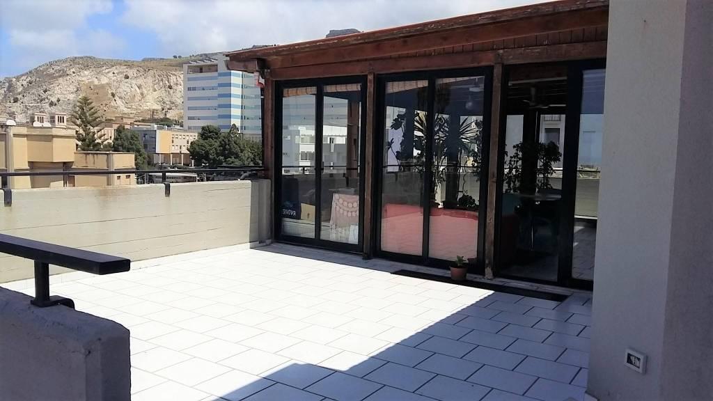 Via Villa S G.nni, attico di mq 200ca oltre verande, ottime condizioni, vista mare Euro 290mila CL , foto 11