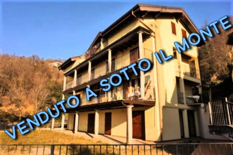 Appartamento in vendita a Sotto il Monte Giovanni XXIII, 3 locali, prezzo € 137.000   PortaleAgenzieImmobiliari.it