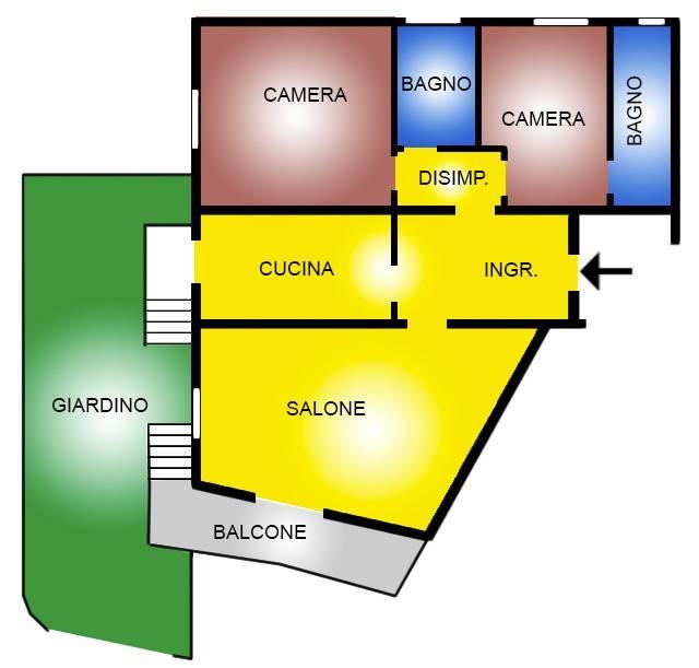 Appartamento in vendita a Ladispoli, 3 locali, prezzo € 160.000 | CambioCasa.it