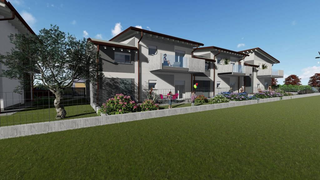 Villa a Schiera in vendita a Somma Lombardo, 4 locali, prezzo € 285.000   CambioCasa.it