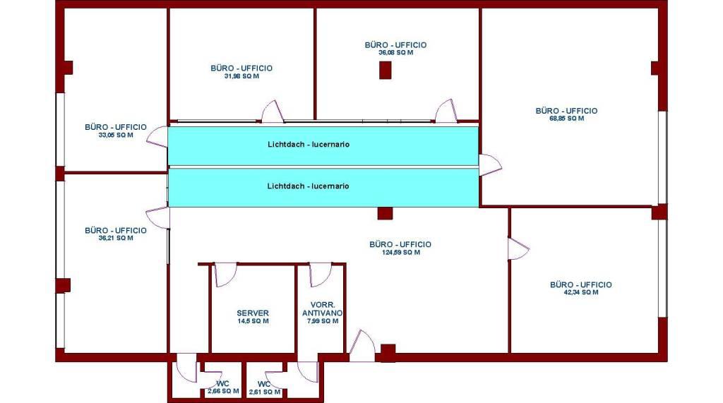 Ufficio / Studio in affitto a Bolzano, 6 locali, prezzo € 2.500 | PortaleAgenzieImmobiliari.it