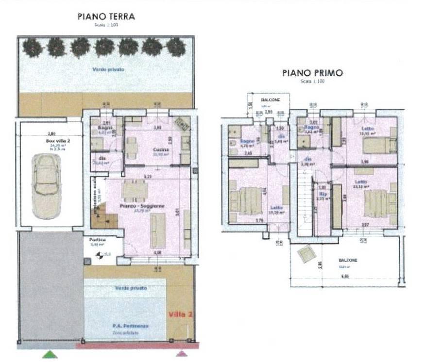 Villetta in Vendita a Modena Periferia Ovest: 3 locali, 183 mq