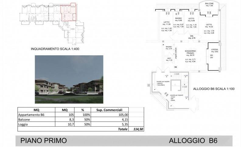 Appartamento in Vendita a Spilamberto:  3 locali, 114 mq  - Foto 1