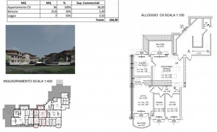 Appartamento in Vendita a Spilamberto:  2 locali, 104 mq  - Foto 1