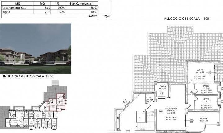 Appartamento in Vendita a Spilamberto: 3 locali, 99 mq