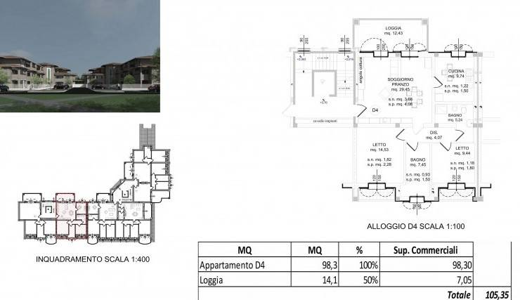 Appartamento in Vendita a Spilamberto: 2 locali, 105 mq