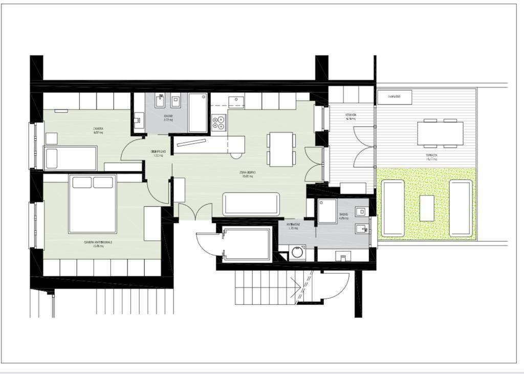 Appartamento in vendita a Cuneo, 3 locali, Trattative riservate | PortaleAgenzieImmobiliari.it