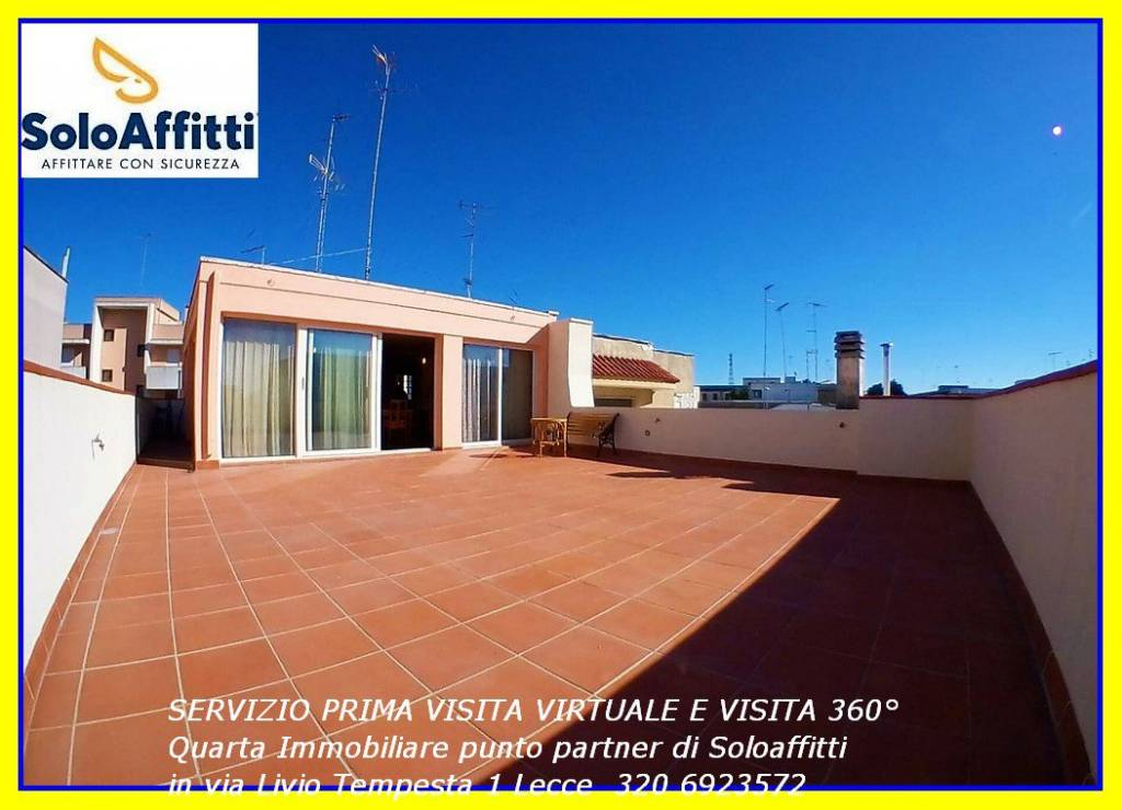 Attico in Affitto a Lecce Semicentro: 2 locali, 65 mq