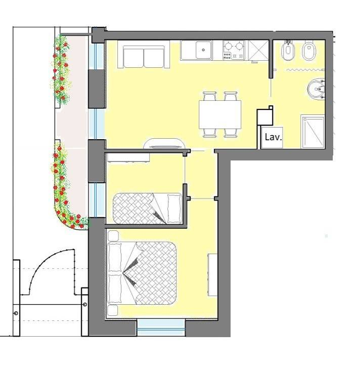 Appartamento in vendita a Civitanova Marche, 3 locali, prezzo € 110.000 | CambioCasa.it